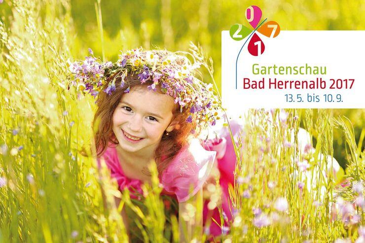 Blumenmädchen Gartenschau Bad Herrenalb 2017