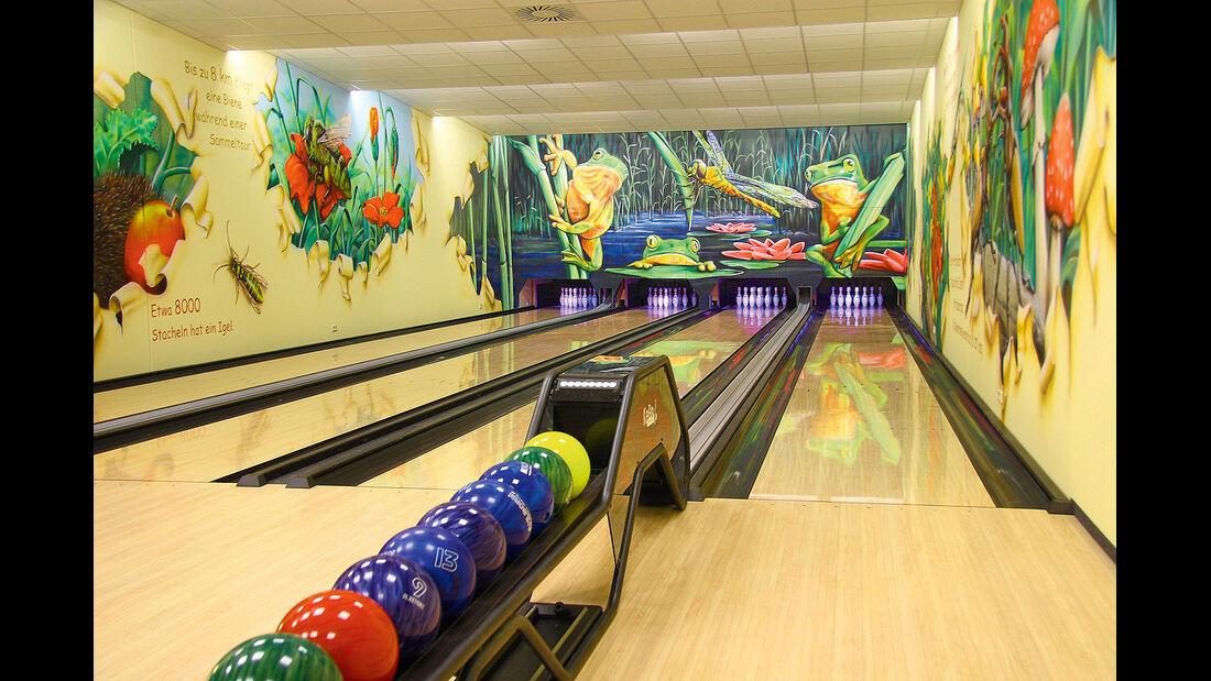 Bowlingbahn in Plötzky.