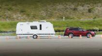Bremsweg-Vergleich Caravan