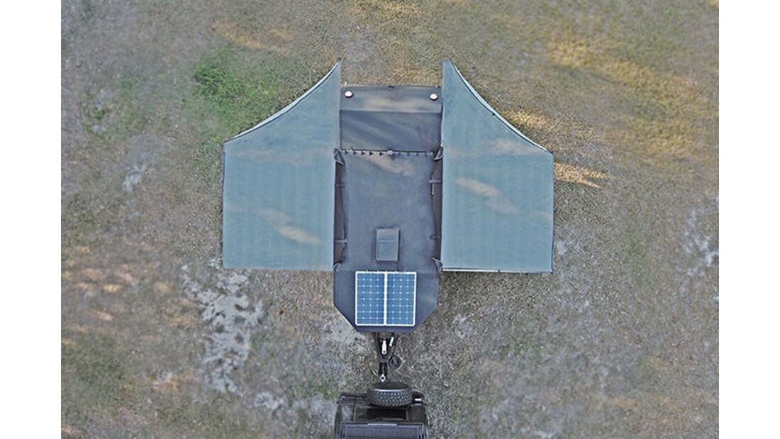 Bruder EXP-4 oben Markise