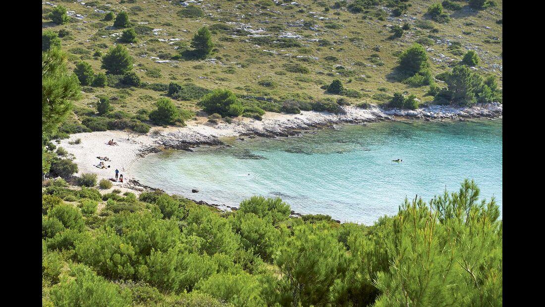 Bucht Kroatien Dalmatien