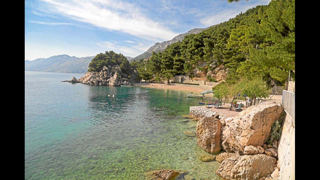 Bucht in Dalmatien
