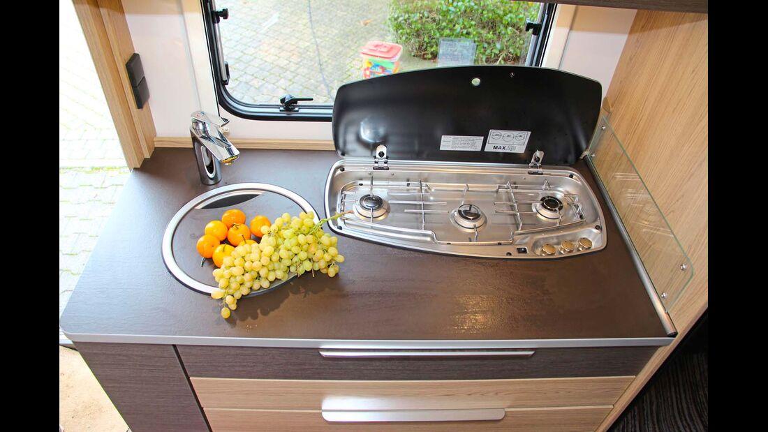Bürstner Averso 510 TK Küche