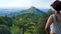 Burg Hohenzollern in Sicht