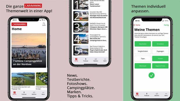 CARAVANING-App 2021