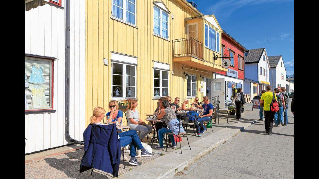 Cafe in Norwegen/Bodo