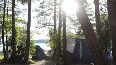 "Camping Anderwald am Faaker See ist Mitglied der ARGE ""Lust auf Camping"""