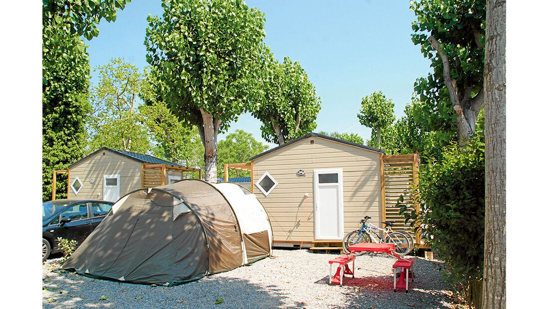 Camping Antipolis bei Antibes.