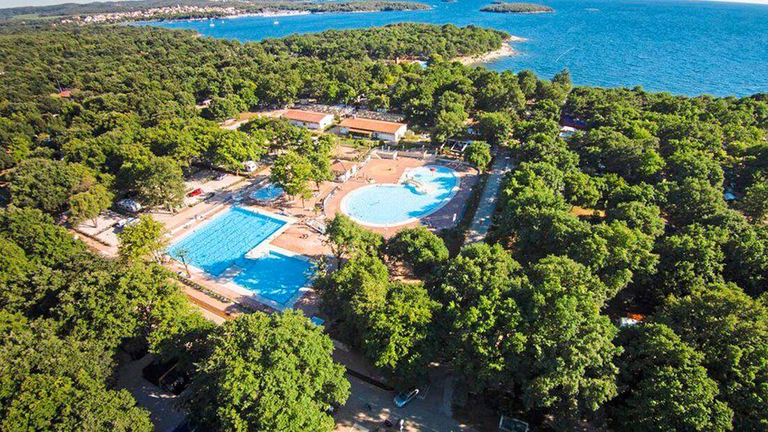 Camping Bijela Uvala Kroatien