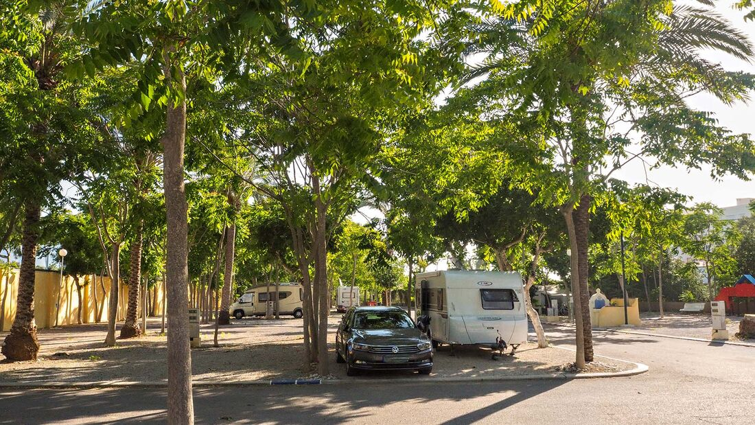 Camping Cap Blanch