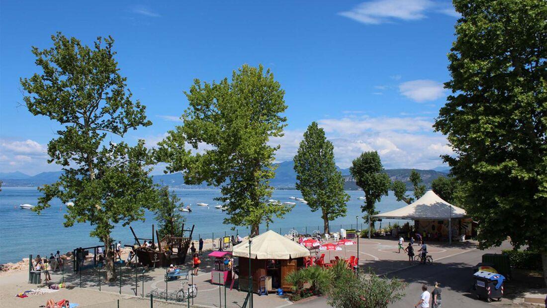 Camping Cisano, Gardasee