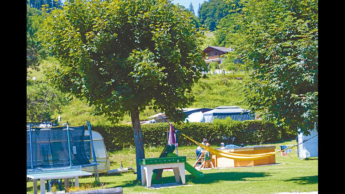Camping Haute Gruyère.