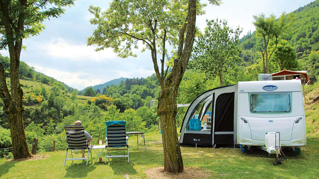 Camping L'Ardèchois in Frankreich