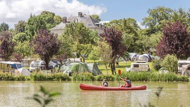 Camping Le Brévedent  in der Normandie.
