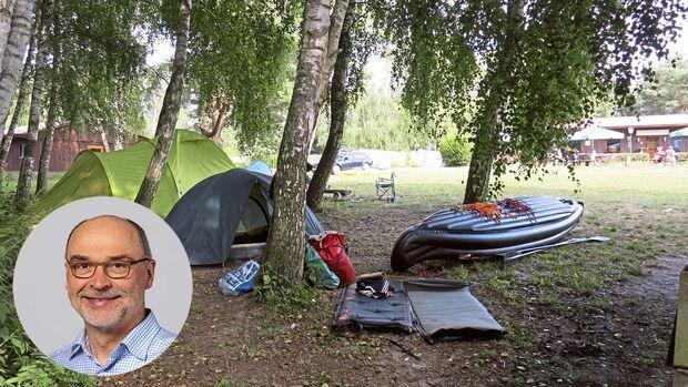Camping-Liebeserklärungen