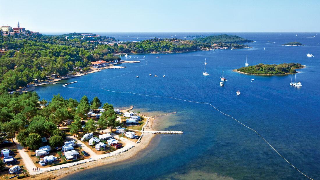 Camping Orsena mit Bucht