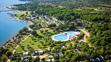 Camping Polari in Istrien