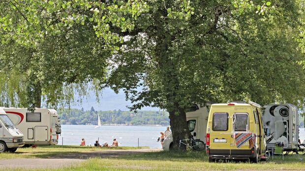 Camping-Reise Genf