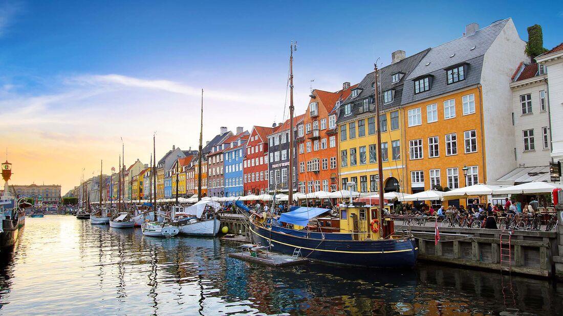 Camping-Reise Kopenhagen