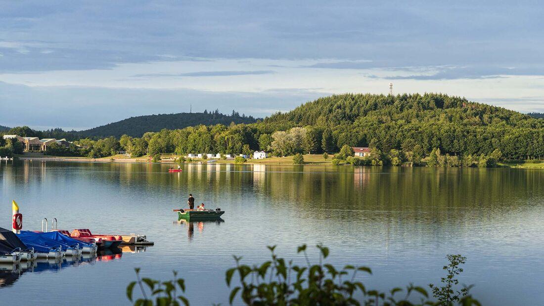 Camping-Reise Saarland