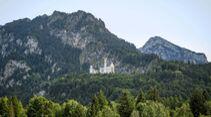Camping-Reise Südbayern
