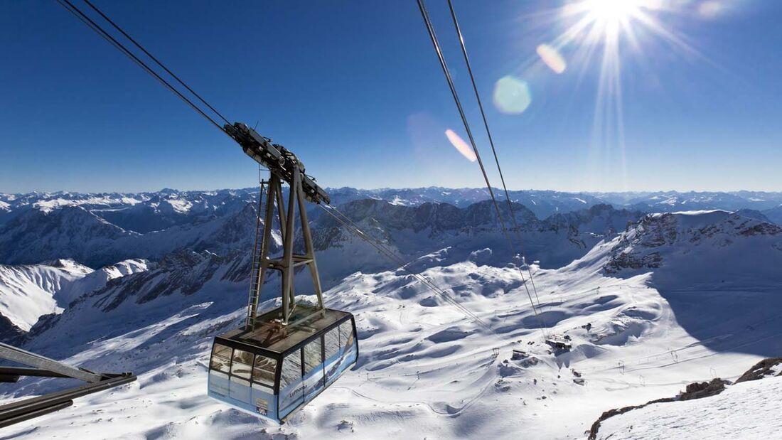 Camping Resort Zugspitze - Zugspitzbahn