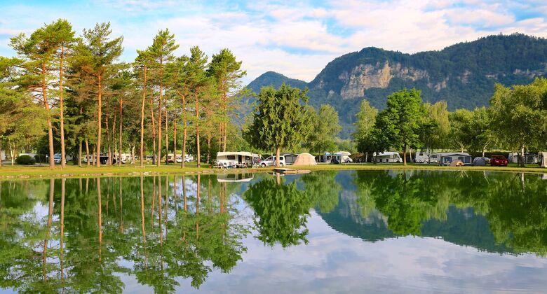 Camping Rosental Ro_ an KŠrntens SŸdspitze