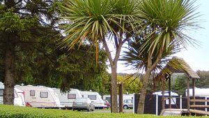 Camping Roundwood Caravan Park in County Wicklow