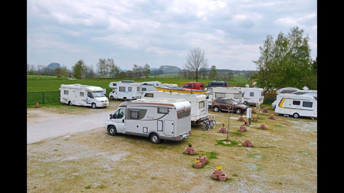 Camping-Stellplatz Struppen