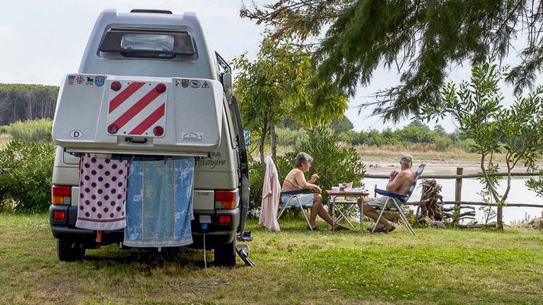 Camping-Tour Amalfiküste