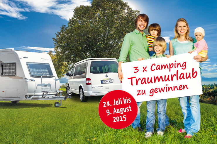Camping-Traumurlaub gewinnen