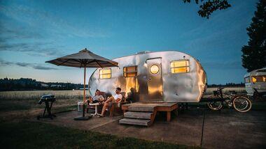 Camping, US Caravan