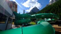 Camping Vidor in den Dolomiten