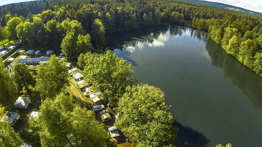 Camping Weichselbrunn Oberer Bayrischer Wald