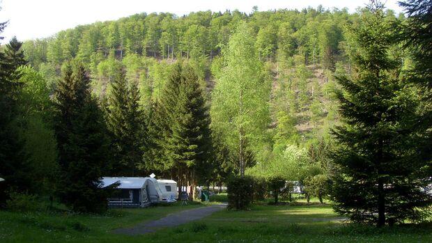 Camping am Waldwinkel