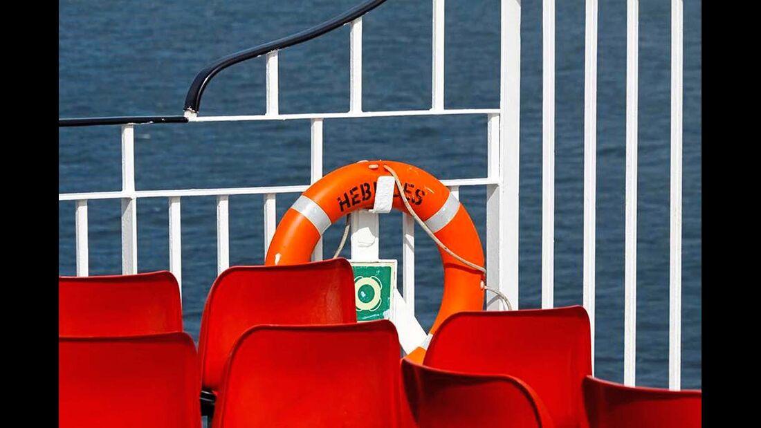 Camping an Bord ist nur begrenzt verfügbar und deshalb früh ausgebucht. Zum Preis ...