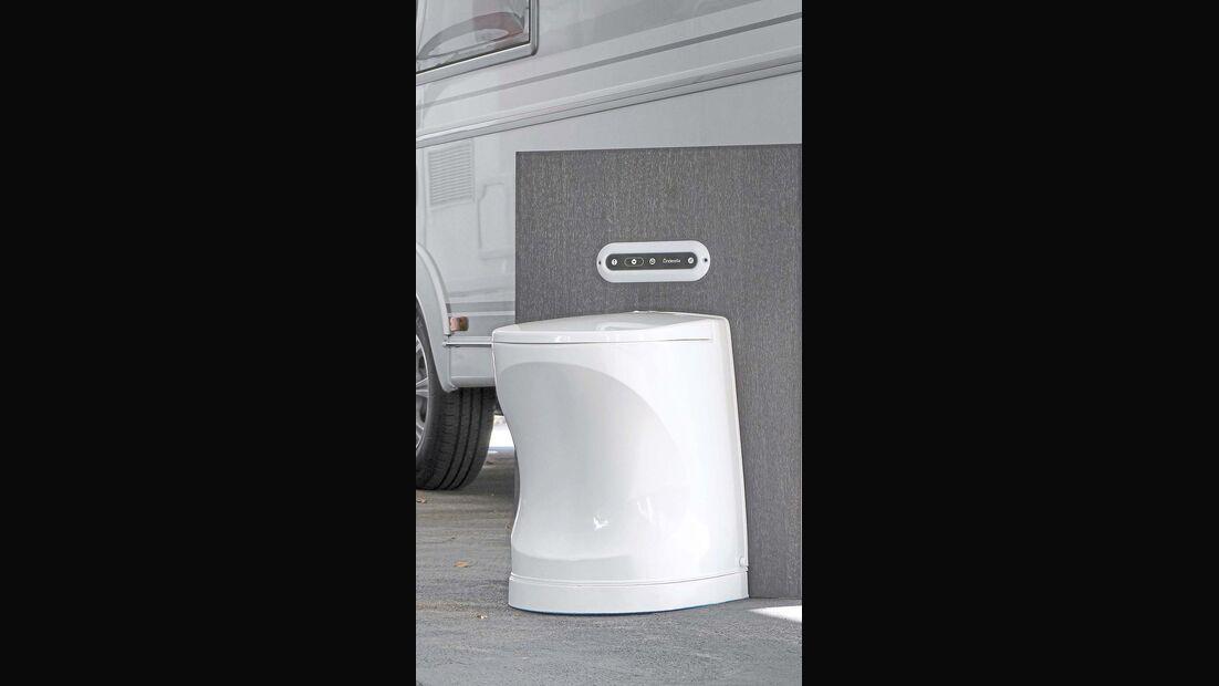 Camping-toiletten