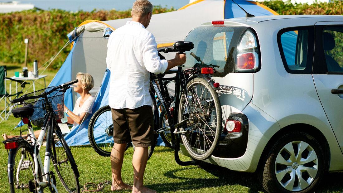 Camping und Fahrradfahren in Dänemark