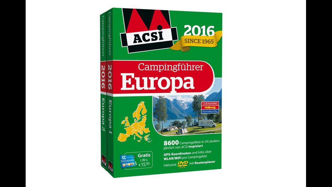 Campingführer Europa