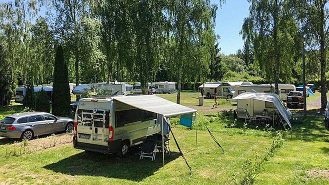 CampingplŠtze Mecklenburger Seenplatte