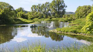 Campingplätze an Flüssen