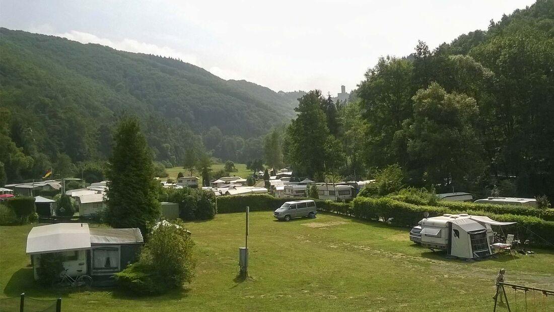 Campingplätze an der Mosel