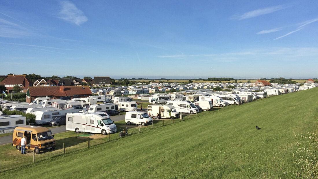 Campingplätze an der Nordseeküste