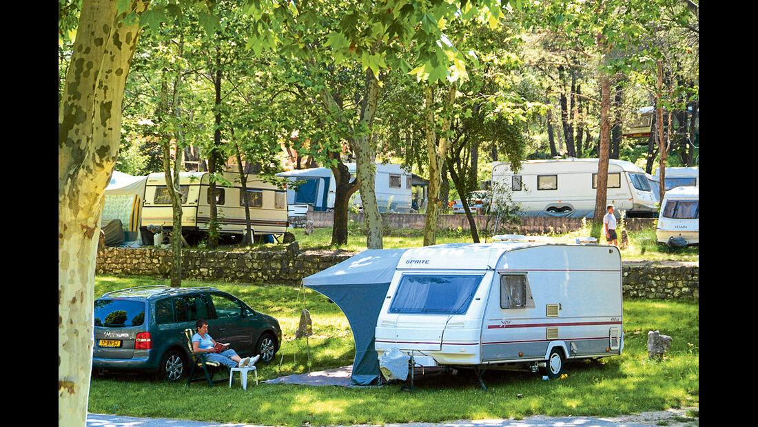 Campingplatz Domaine de la Bergerie.