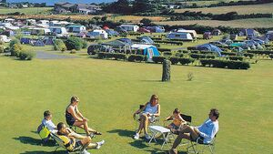 Campingplatz England