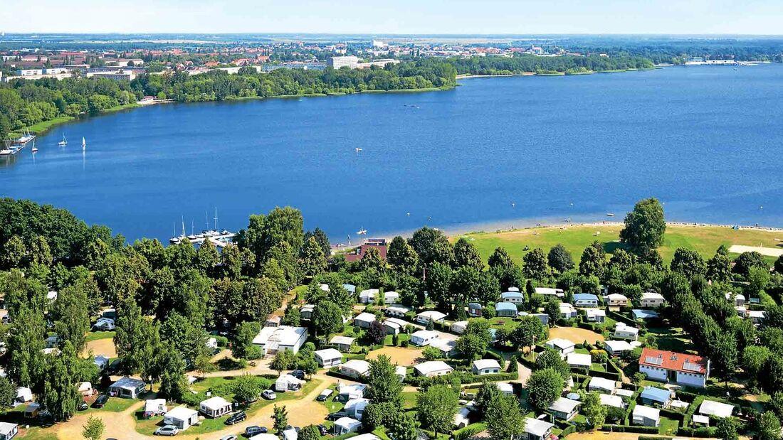 Campingplatz Familienpark Senftenberger See in Deutschland