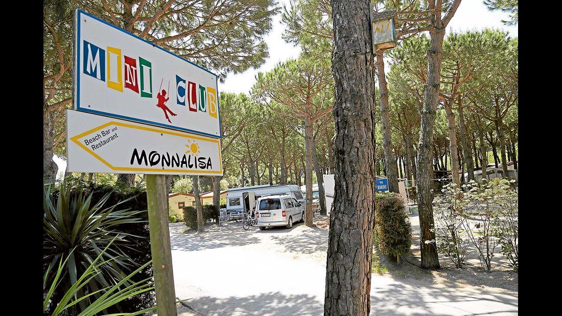 """Campingplatz """"Florenz"""" in der Nähe von Comacchio"""