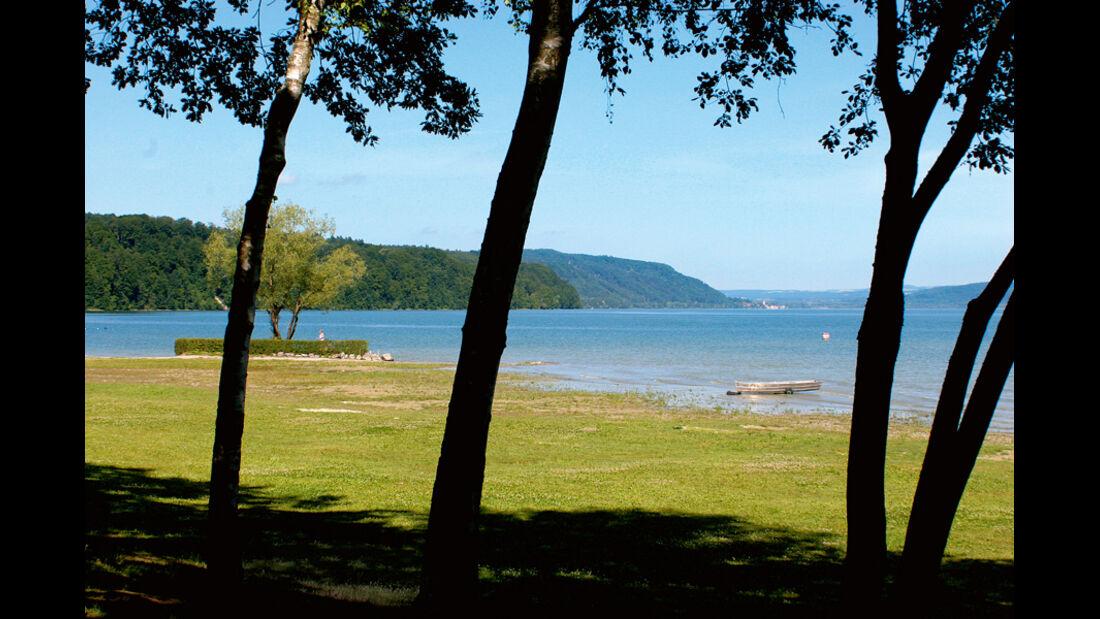 Campingplatz Klausenhorn, Ufer