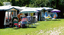 Campingplatz Klausenhorn, Zeltplatz