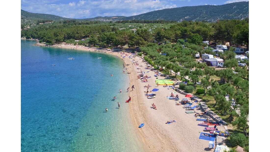 Campingplatz Kova?ine in Kroatien